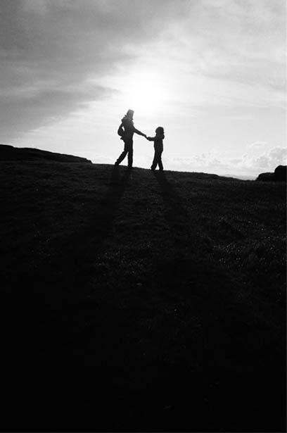 Madre e hija NESS de viaje en Escocia