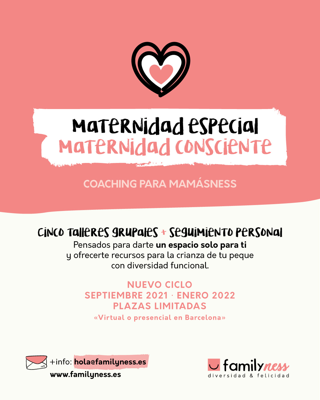 Ciclo de coaching grupal para madres con hijos con discapacidad